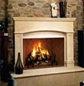 Picture of Superior WRT6000 Masonry Wood-Burning Fireplace - Traditional - Front Open