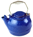 Picture of 2 1/2 Qt. Cast Iron Humidifying Kettle - Blue Enamel