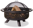 Picture of Uniflame WAD1009SP Outdoor Wood Burning Firepit